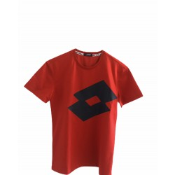 T-SHIRT LOTTO JERSEY JUNIOR ROSSO